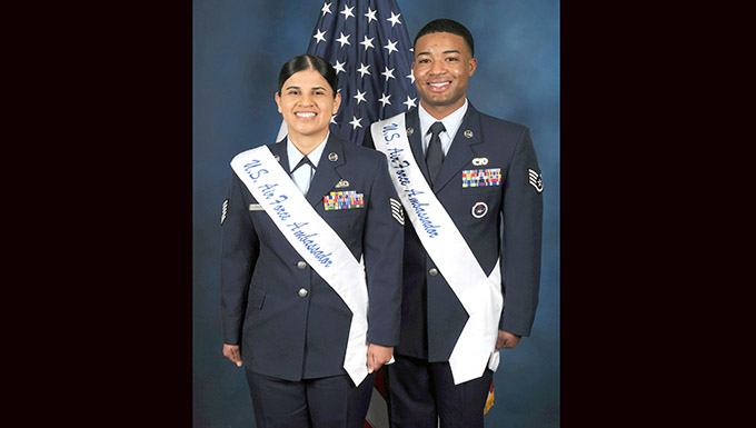 149th FW 'Gunfighter' selected as AF ambassador for third straight year
