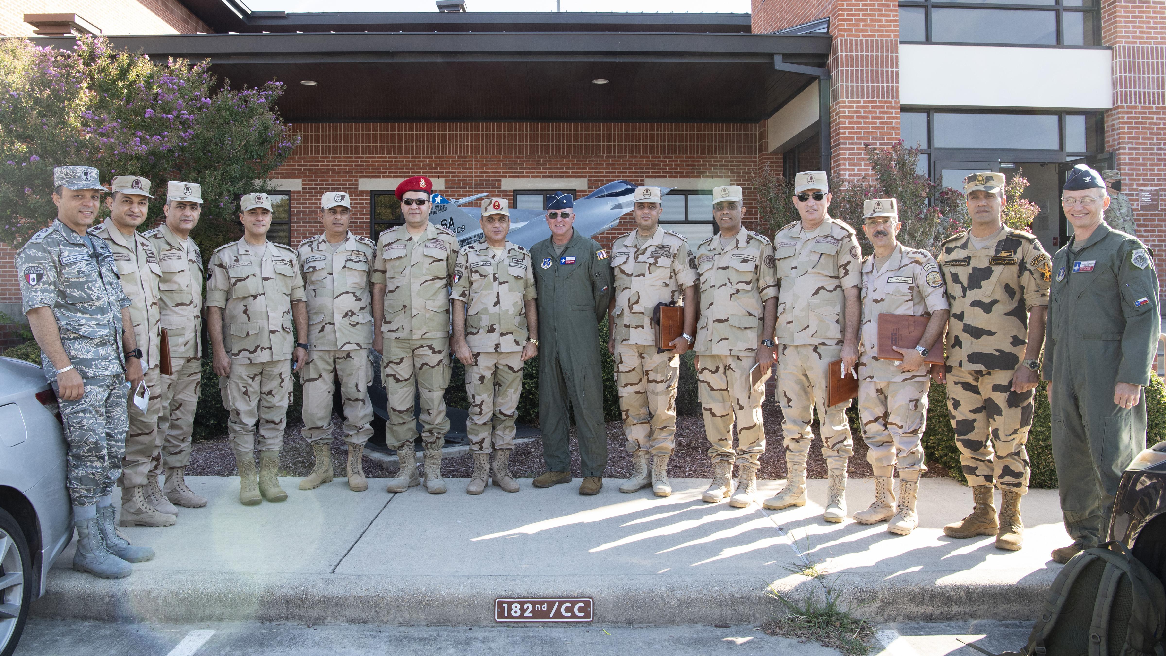 Egyptian State Partnership Visit