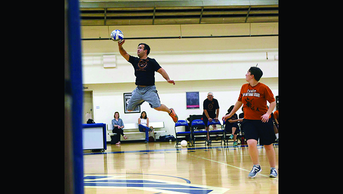 149 FW volleyball team wins final game of season