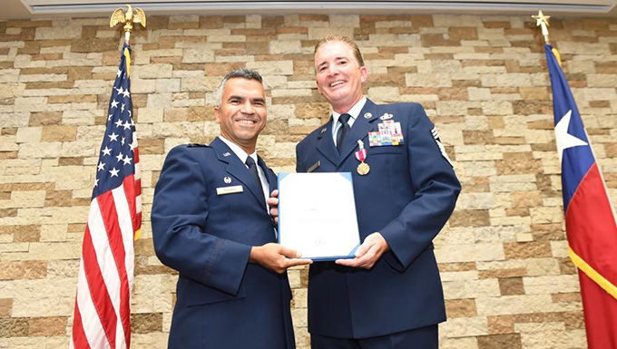 149th Fighter Wing says farewell to Chief Master Sergeant Brian Schaefer