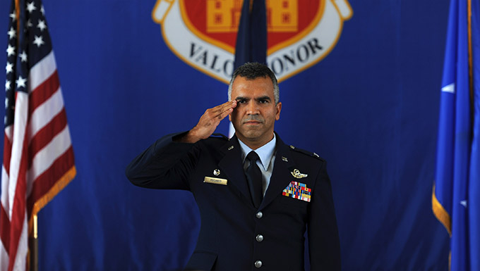Col. Raul Rosario takes command of the 149 FW