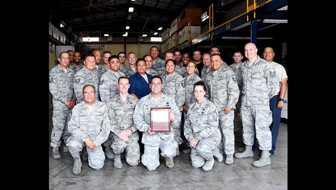 149th Logistics Readiness Squadron receives ANG Daedalian Logistics Effectiveness Award