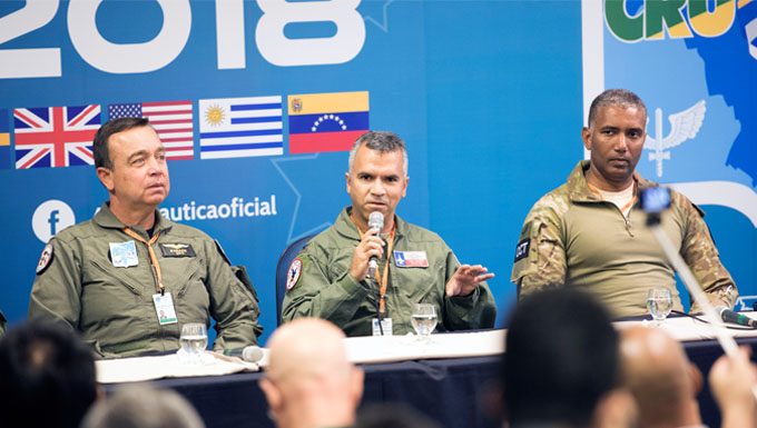 TX, Washington ANG members participate in international exercise