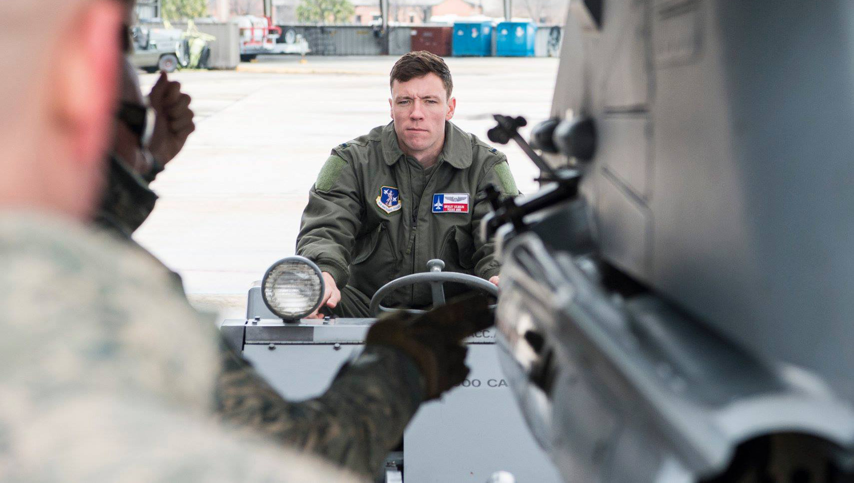 Weapons familiarization training for F-16 student pilots