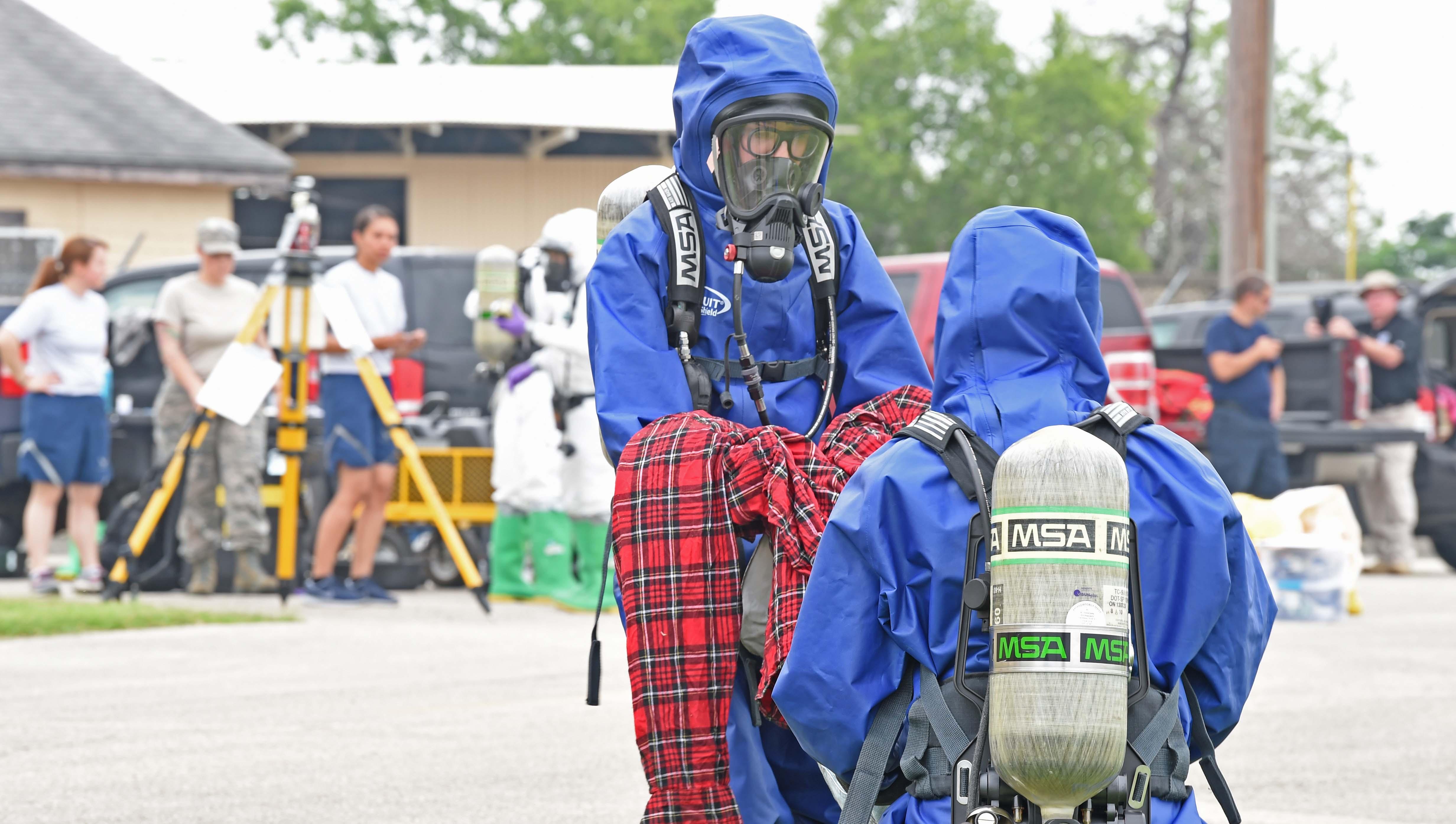 149th Emergency Management Team hazmat exercise
